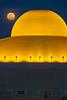 Dhammakaya with moon. (Wanlop Kiettijanon) Tags: bangkok ×ceremony ×thailand ×abundance ×buddha ×buddhism ×day ×dome ×event ×figurine ×horizontal ×offbeat ×religion ×small ×statue ×full moon ×2017 ×pathum thani ×bestpix ×dhammakaya ×buildings ×million