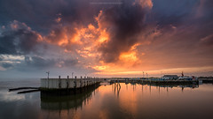 Sky (Sascha Gebhardt Photography) Tags: nikon nikkor d800 1424mm lightroom landschaft landscape sky see sea nordsee natur germany deutschland photoshop fototour fx travel tour roadtrip reise reisen hafen