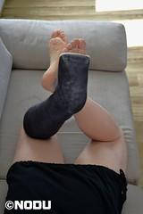BiB (Nodu) Tags: slc leg cast toes soles brokenleg castfetish gips