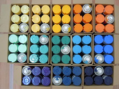 Full cans ( brand new Sparvar ) (Jihef) Tags: bozar brussels generations 1980s old school graffiti writers sparvar spraycans hiphop