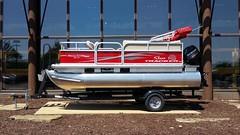 Sun Tracker Bass Buggy 16 DLX (Adventurer Dustin Holmes) Tags: tracker pontoonboat boat 2017 suntracker bassbuggy 16 dlx mercuryoutboard bassproshopsoutdoorworld bassproshops basspro