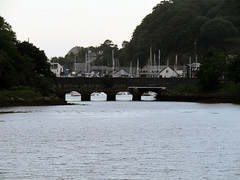 Britannia Bridge, Porthmadog 2017 (Dave_Johnson) Tags: gwynedd porthmadog wales britanniabridge bridge llynbach harbour lake