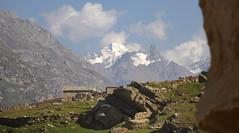 Himalayan peaks at Rhotang pass, India 2016 (reurinkjan) Tags: india 2016 ©janreurink himachalpradesh spiti kinaur ladakh kargil jammuandkashmir rhotangpass himalayamountains sunrise himalayamtrange himalayas landscapepicture landscape landscapescenery mountainlandscape