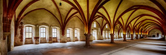 Dormitory of Eberbach Abbey No2. - Eberbach, Germany (dejott1708) Tags: eberbach germany abbey kloster gothic architecture hdr panorama monastery cistercian dormitory