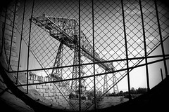 Transporter (plot19) Tags: transporter middlesbough nikon north northern now bridge british britain blackandwhite blackwhite black england english steel east photography plot19 brick