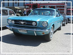 Ford Mustang, 1965 (v8dub) Tags: ford mustang 1965 schweiz suisse switzerland bleienbach american muscle pkw pony voiture car wagen worldcars auto automobile automotive old oldtimer oldcar klassik classic collector