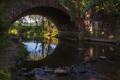Snelle stroming (aj.lindeboom) Tags: light dark river water long exposure nature