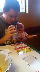 """Daddy and Dani Eat at Margarita's in Kansas City • <a style=""""font-size:0.8em;"""" href=""""http://www.flickr.com/photos/109120354@N07/35311291590/"""" target=""""_blank"""">View on Flickr</a>"""