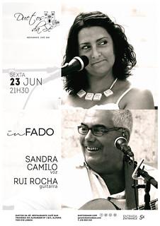CONCERTO IN FADO - Duetos da Sé - ALFAMA - LISBOA - SEXTA-FEIRA 23 JUNHO 2017 - 21h30 - Sandra Camilo & Rui Rocha