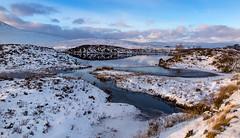 Frozen Fingers (explored 05.07.17) (cotswoldman) Tags: rannochmoor glencoe scottishhighlands scotland scottish highlandsandislands highlands landscape lochsandglens loch frost frozen snow winter water gloucestercameraclub