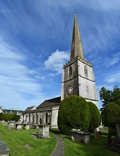 St Mary's Church, Painswick, Gloucestershire