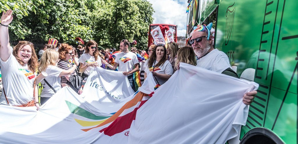 LGBTQ+ PRIDE PARADE 2017 [STEPHENS GREEN BEFORE THE ACTUAL PARADE]-129831