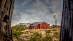Murder In The Red Barn (emiliopasqualephotography) Tags: cima kelso mojavenationalpreserve holeinthewall ranch redbarn cattle california desert
