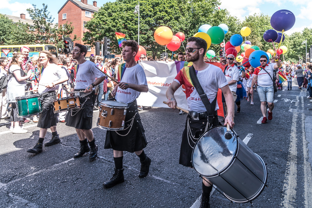 LGBTQ+ PRIDE PARADE 2017 [ON THE WAY FROM STEPHENS GREEN TO SMITHFIELD]-129984