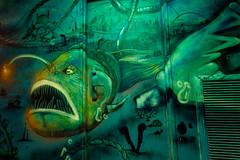 Baudroie des Abysses - Rehab 2 @ciup_fr (tangi_bertin) Tags: maison des élèves ingénieurs arts et métiers rehab 2 cité internationale universitaire de paris graffiti grafitty objet street art evénements maisondesélèvesingénieursartsetmétiers rehab2 artsetmétiers citéinternationaleuniversitairedeparis hongrie streetart streetartparis vacances élémentdedécoremursdétaillebouton