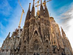 Sagrada Familia, Barcelona (brendan_reeves) Tags: barcelona spain sagrada familia cathedral europe church