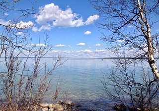Cold Lake - Cold Lake Provinicia Park - Nice skies