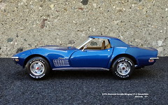 1972 Chevrolet Corvette Stingray LT-1 Convertible (JCarnutz) Tags: 124scale diecast franklinmint 1972 chevrolet corvette lt1 stingray