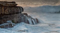 Maroubra Flow 1 (RoosterMan64) Tags: australia mahonpool maroubra nsw rockshelf sunrise water waterflow