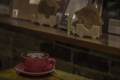 ? (S♡C) Tags: cafe coffee cappuccino stationary antique retro mysweetmemory