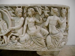 Sarcophagus with Nereids and Tritons (Nemoleon) Tags: june 2017 capitolinemuseums 20170618066 sarcophagus