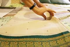 The Woman Who Makes Love to Her Saris (Mayank Austen Soofi) Tags: delhi walla manju kapur finger the woman who makes love her saris