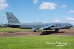 B52H-LA-2BW-DEUCE-60-0002-11-6-17-RAF-FAIRFORD-(5) (Benn P George Photography) Tags: raffairford 11617 bennpgeorgephotography b52h la deuce 600002 2bw letsroll