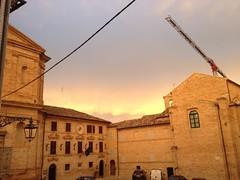 Piazza della Vittoria, Monte Giberto (FM). Marche. Italy (Angel J10) Tags: destinazionemarche centristorici