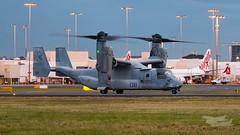 US Marines V-22 Osprey 07 YSSY-8357 (A u s s i e P o m m) Tags: v22 osprey v22osprey usmarines sydneyairport syd yssy mascot newsouthwales australia au