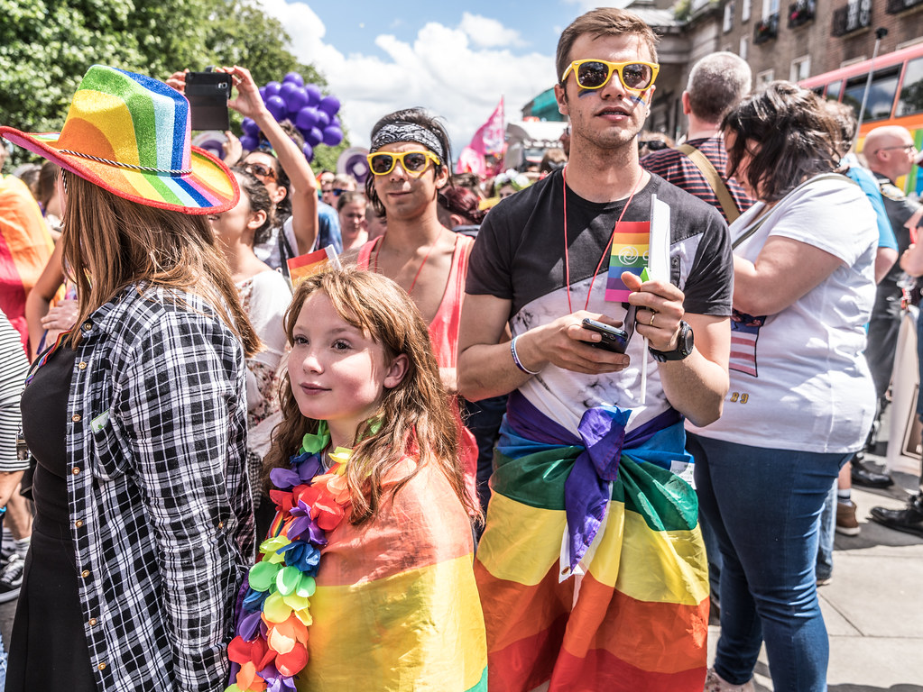 LGBTQ+ PRIDE PARADE 2017 [STEPHENS GREEN BEFORE THE ACTUAL PARADE]-129964