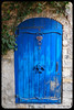 Door (franz75) Tags: nikon s6600 coolpix italia italy liguria bussana bussanavecchia porta door blu blue legno wood antico old