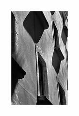 Spanish Shadows (CJS*64) Tags: girona shadows shadow windwos buidling blackwhite bw blackandwhite whiteblack whiteandblack mono monochrome spain city travel traveling