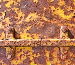 Coal Car Detail 5493 A (jim.choate59) Tags: rust orange coal coalcar rosylnwashington jchoate minimalism texture colorful train rx100 metal decay on1pics