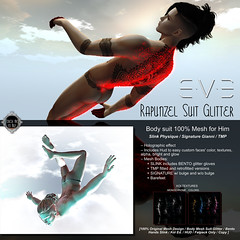 Updated with TMP: E.V.E Rapunzel Suit Glitter for Him (eve.studio (Noke Yuitza)) Tags: tmp eve slink signature glitterking sparkless suit animatedmeshparticlelights meshparticles fittedmesh bento