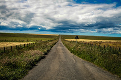 Wick, Scotland (Fraser Milne Photography) Tags: scotland uk wick road summer cloud blue sky canon photo photgraphy long north coast 500 nc500 john o groates