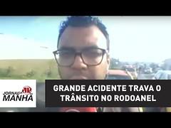 Grande acidente trava o trânsito no Rodoanel (portalminas) Tags: grande acidente trava o trânsito no rodoanel