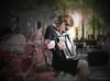 """Air d'accordéon ... ( P-A) Tags: artistederue musicienne accordéon voyageuse étudiante femme fille jeune belle été soleil terrasse chaleur style mélodies vacances visiteurs touristes photos simpa© """"nikonflickraward"""""""