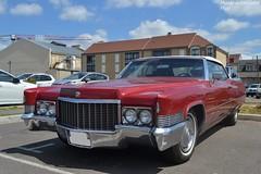 Cadillac Eldorado (Monde-Auto Passion Photos) Tags: voiture vehicule auto automobile cadillac eldorado cabriolet convertible roadster spider rouge ancienne rare rareté collection grande france fontainebleau