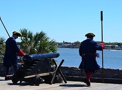 Firing of the Cannon - Inspection (pjpink) Tags: fort historic historicsite castillodesanmarcos history staugustine florida fl april 2017 spring pjpink