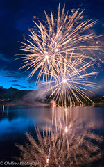 Independance Day Celebration! (OJeffrey Photography) Tags: july4th independenceday fireworks reflection lakeestes estespark co colorado celebration twilight nightsky night ojeffrey ojeffreyphotography jeffowens nikon d800
