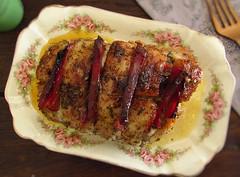Pork tenderloin in the oven with bacon | Food From Portugal (Food From Portugal) Tags: portugal food tenderloin lombo bacon pork porco recipes receitas