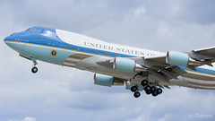 Air Force One - 29000 (R. Clément (MrClemfly) Photography) Tags: airforceone usaf orly paris ory lfpo adp france usa