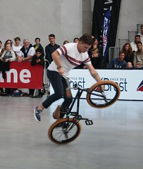 Riding Indoor Show Brest 2017 (EricFromPlab) Tags: bretagne finistère brest capucins flat breizh brittany freestyle rider jump bmx