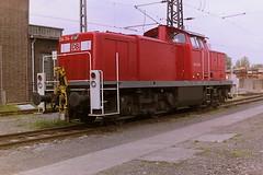 DB 294194-6 (bobbyblack51) Tags: db class 294 290 mak bb heavy diesel shunter 2941946 2901940 bw dortmund 2001