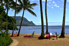 Pu'u Poa and Makana (River Wanderer) Tags: hanaleibay makana puupoa balihai kauai hawaii