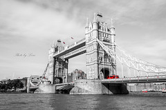 DSC_0253 (Leric Liu) Tags: london 倫敦 倫敦橋 黑白 英國 united kingdom england d5200 nikon bridge londonbridge