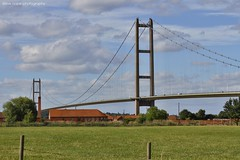 Humber Bridge - North Lincolnshire (SteveH1972) Tags: bartonuponhumber humberbridge tileworks northernengland northlincolnshire england uk europe britain bridge canon7d 28135 canon28135ultrasonic canon28135 2017 outside outdoor outdoors architecture