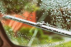 windshield (annapolis_rose) Tags: vancouver carfreeday bus buswindow windshieldwiper window waterdrops