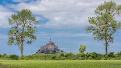 Un des fleurons de la Normandie (France) - One of the jewels of Normandy - (Shoot Enraw) Tags: france paysage 7003000mmf4056 beauvoir monument architecture 110160mmf28 normandie montsaintmichel lecouesnon