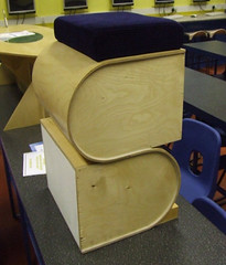 Stool (Design and Technology Association) Tags: wood ply plywood chair data dtassociation dataorguk
